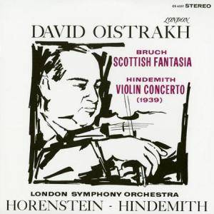 Cover - Paul Hindemith: Bruch - Scottish Fantasia / Hindemith - Violin Concerto (1939)