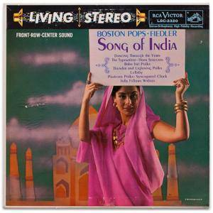 Cover - Arthur Fiedler & Boston Pops Orchestra: Song Of India