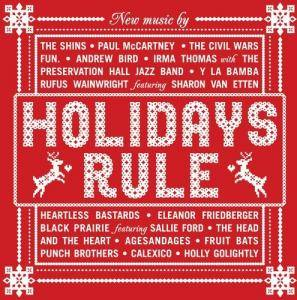 Cover - Fruit Bats: Holidays Rule