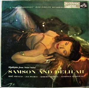 Cover - Camille Saint-Saëns: Samson And Delilah (Highlights)