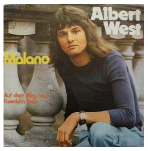 Cover - Albert West: Malano