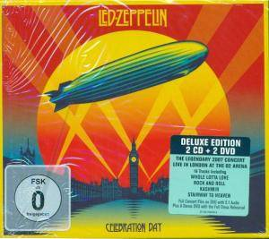 Led Zeppelin: Celebration Day (2-CD + 2-DVD) - Bild 2