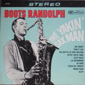 Cover - Boots Randolph: Yakin' Sax Man, The