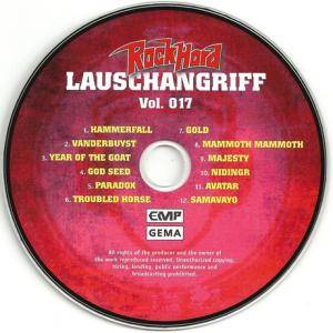 Rock Hard - Lauschangriff Vol. 017 (CD) - Bild 3