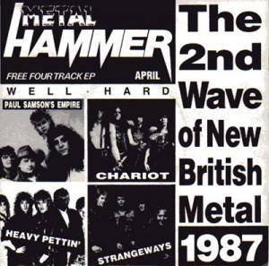 Metal Hammer - The 2nd Wave Of New British Metal 1987 - Cover