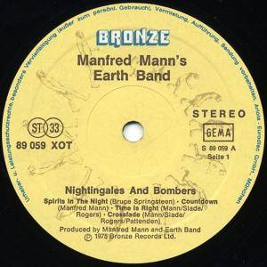 Manfred Mann's Earth Band: Nightingales & Bombers (LP) - Bild 2