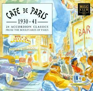Cover - Jean Gabin: Cafe De Paris - 24 Accordion Classics