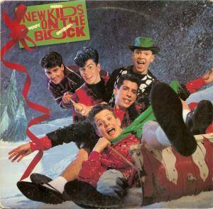 Cover - New Kids On The Block: Merry Merry Christmas