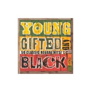Young, Gifted And Black - 50 Classic Reggae Hits! - Cover
