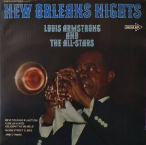 Cover - Louis Armstrong & His All-Stars: New Orleans Nights