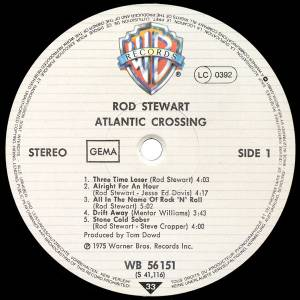 Rod Stewart: Atlantic Crossing (LP) - Bild 4