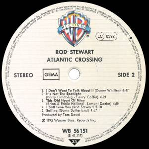 Rod Stewart: Atlantic Crossing (LP) - Bild 5