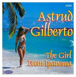 Astrud Gilberto: Girl From Ipanema, The - Cover