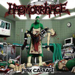 Haemorrhage: Punk Carnage - Cover