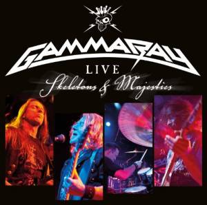 Gamma Ray: Skeletons & Majesties Live - Cover
