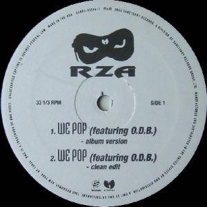 Cover - RZA: We Pop