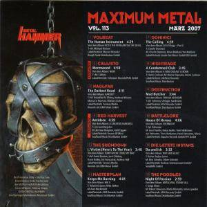 Metal Hammer - Maximum Metal Vol. 113 (CD) - Bild 2