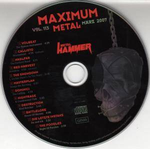 Metal Hammer - Maximum Metal Vol. 113 (CD) - Bild 3