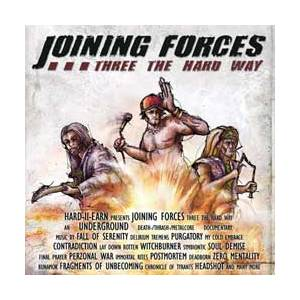 Cover - Delirium Tremens: Joining Forces - Three The Hard Way