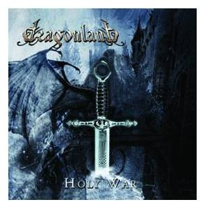 Dragonland: Holy War - Cover