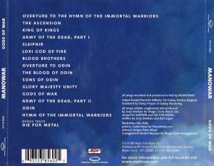 Manowar: Gods Of War (CD) - Bild 2