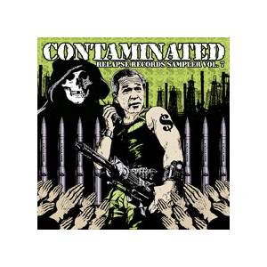 Contaminated - Relapse Records Sampler, Vol. 7 - Cover