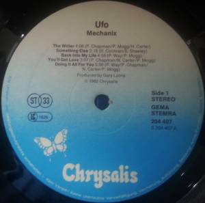 UFO: Mechanix (LP) - Bild 3
