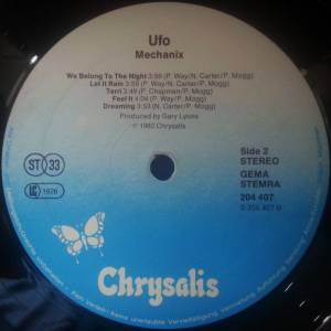 UFO: Mechanix (LP) - Bild 4