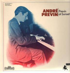 Cover - André Previn: Previn At Sunset