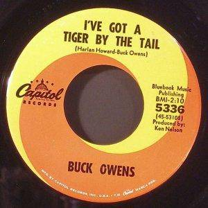 Cover - Buck Owens: I've Got A Tiger By The Tail