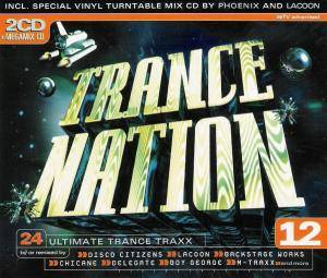 Cover - M-Traxx: Trance Nation 12