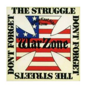 Cover - Warzone: Don't Forget The Struggle, Don't Forget The Streets