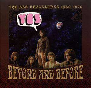 Yes: Beyond And Before: The BBC Recordings 1969-1970 - Cover