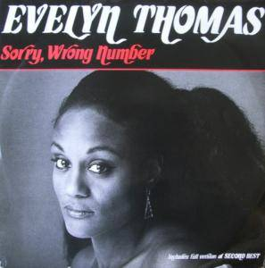 Evelyn Thomas: Sorry, Wrong Number - Cover