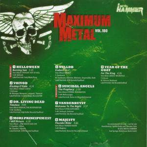 Metal Hammer - Maximum Metal Vol. 180 (CD) - Bild 2