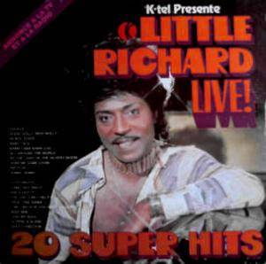 Cover - Little Richard: Little Richard Live! 20 Super Hits