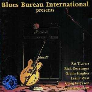 Cover - Frank Marino: Blues Bureau International Presents