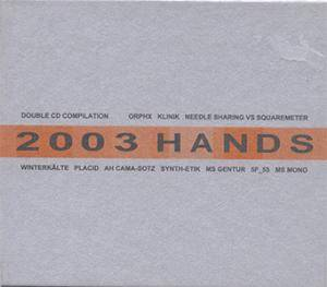 Cover - Synth-Etik: 2003 Hands
