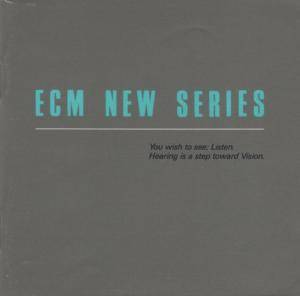 ECM New Series - Cover