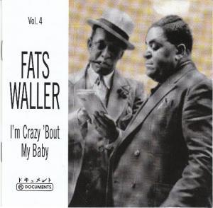 Fats Waller: I'm Crazy 'bout My Baby - Cover