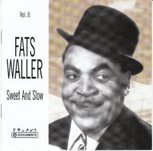 Fats Waller: Sweet And Slow - Cover