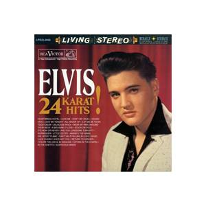 Elvis Presley: 24 Karat Hits! - Cover