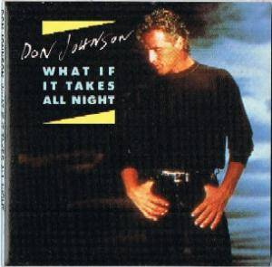 Don Johnson: What If It Takes All Night - Cover