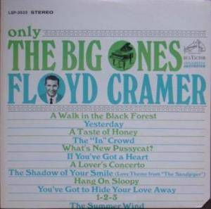 Cover - Floyd Cramer: Big Ones, The