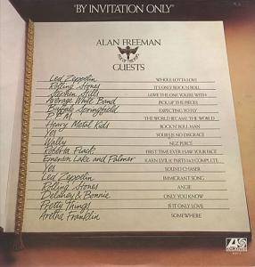 By Invitation Only - Alan Freeman Pick Of The Pops Guests - Cover