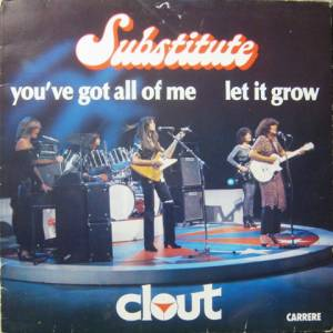 Cover - Clout: Substitute