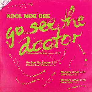 Cover - Kool Moe Dee: Go See The Doctor