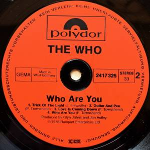 The Who: Who Are You (LP) - Bild 4