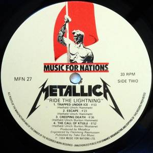 Metallica: Ride The Lightning (LP) - Bild 6