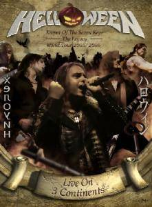 Helloween: Keeper Of The Seven Keys - The Legacy World Tour 2005/2006 - Live On 3 Continents - Cover